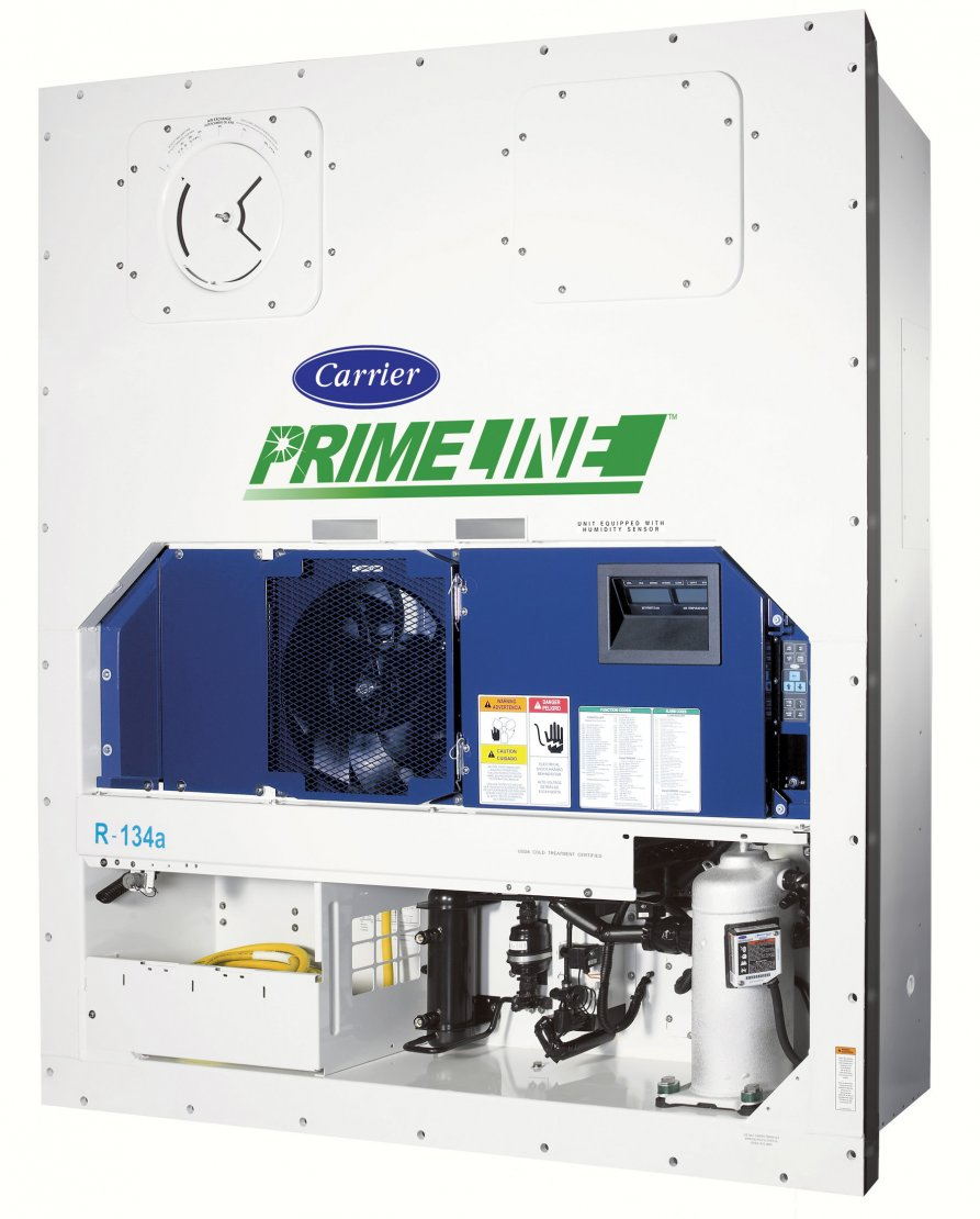 Carrier Primeline on ac unit compressor